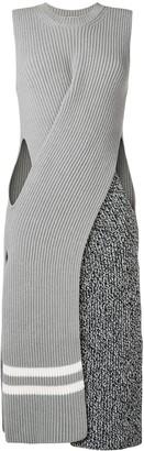 MRZ ribbed knit dress