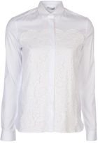 Valentino fitted panel blouse