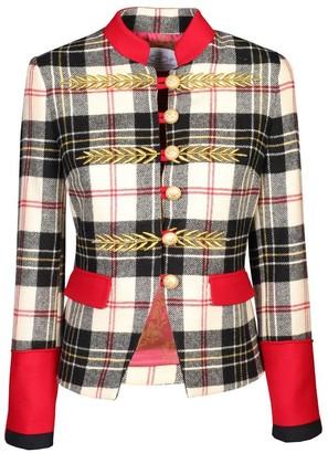 The Extreme Collection Checkered Blazer Renata Scotland