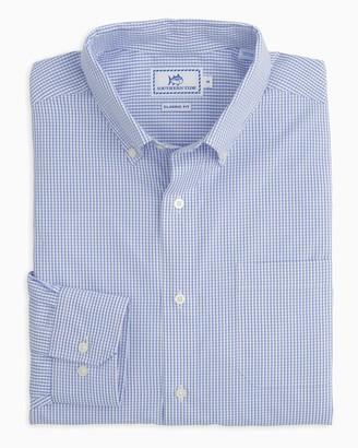 Southern Tide Watermark Tattersall Button Down Shirt