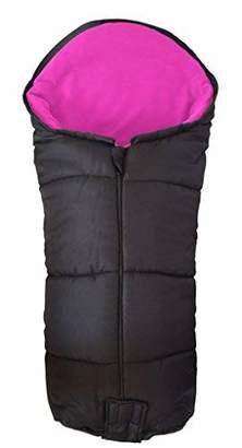 Maclaren Deluxe Footmuff/Cosy Toes Compatible with Mark II Stroller Pushchair Pink