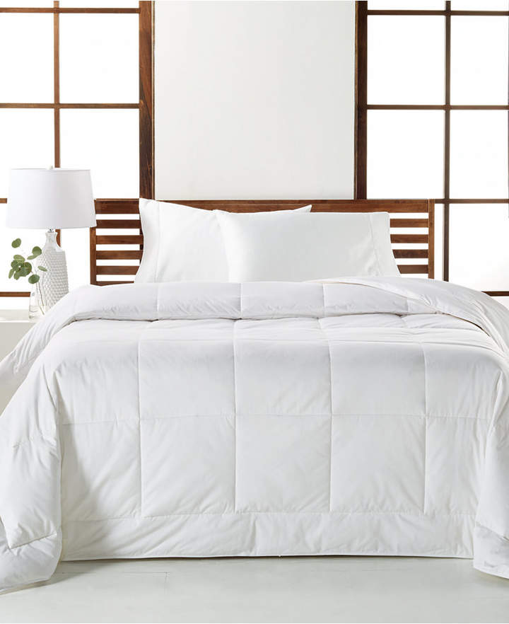 Hotel Collection Closeout! White Down Lightweight Twin Comforter