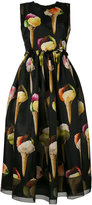 Dolce & Gabbana ice-cream print dress - women - Silk - 46