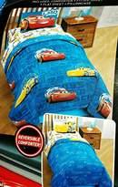 Disney Pixar Cars Twin 4 Piece Bed Set Includes Bonus Tote