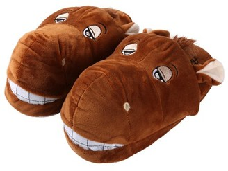 Aerusi Animal Plush Indoor House Slippers