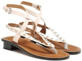 Isabel Marant Exclusive to Mytheresa Jings embellished leather sandals