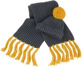 Result Winter Essentials Chunky Knit Hat and Scarf Set - 2 Colou