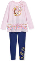 Disney Disney's® Beauty and The Beast 2-Pc. Shirt & Leggings Set, Toddler & Little Girls (2T-6X)