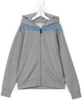 Marcelo Burlon County Of Milan Kids - Aias hoodie - kids - Cotton/Polyester - 2 yrs