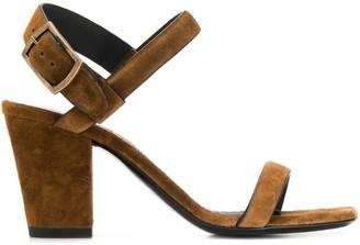 Saint Laurent Block Heel Sandals