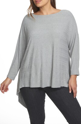 1 STATE Knot Knit Reversible Top