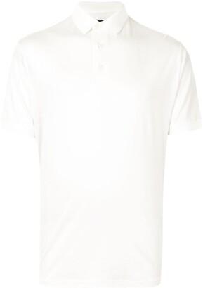 Emporio Armani Side Logo Print Polo Shirt