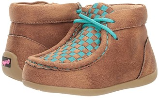 M&F Western Kids Cassidy (Toddler) (Brown/Blue) Boys Shoes