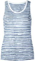 Majestic Filatures striped tank - women - Linen/Flax - I