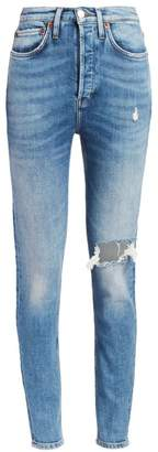 RE/DONE Comfort Stretch Ultra High-Rise Skinny Jeans