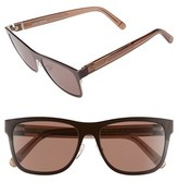 Bobbi Brown Women's 'The Zach' 56Mm Retro Sunglasses - Brown Havana Honey