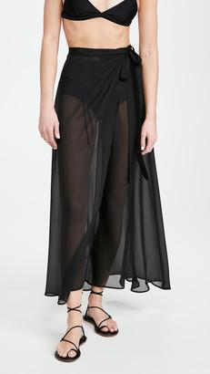 Sara Cristina Long Wrap Skirt