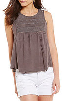 O'Neill Tokeen Embroidered Knit Tank Top