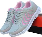 Ponyka Womens Classic Breathable Mesh Running Sports Sneakers