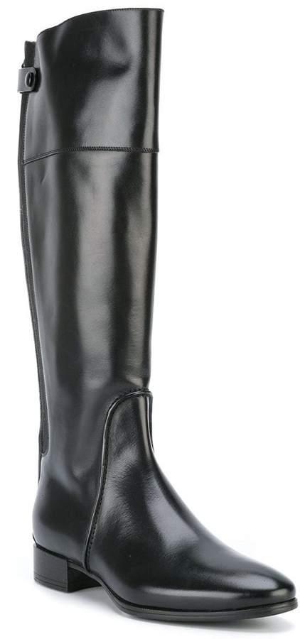 Santoni knee length boots
