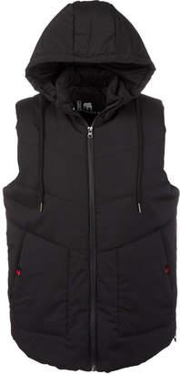 American Stitch Men Hooded Puffer Vest