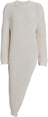 Nanushka Rodi Asymmetrical Crewneck Sweater
