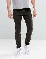 G Star G-Star Revend Super Slim Jeans in Dark Brown Overdye