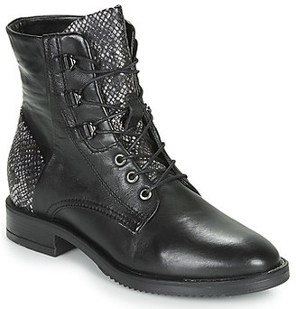 Mjus ZARKO-ZORBA women's Mid Boots in Black