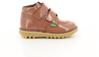 Kickers Kids Suede Touch 'n' Close Ankle Boots