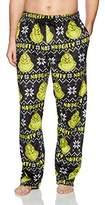 Dr. Seuss Men's Grinch Pajama Sleep Bottom