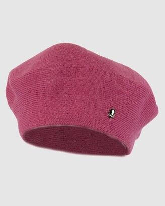 Max Alexander - Women's Pink Caps - European Made Soft Wool Beret - Size One Size at The Iconic