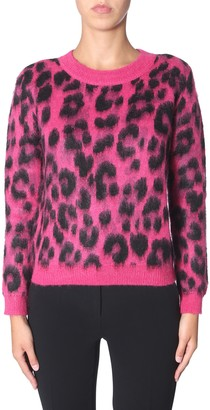 Moschino animal cardigan