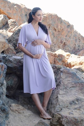Maternity Mid-Length Caftan Dress