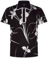 N°21 Hawaiian Knit Polo Shirt