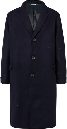 Blue Blue Japan Oversized Melton Wool Overcoat