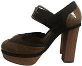 Marni Beige Patent leather Sandals
