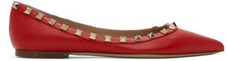 Valentino Red Garavani Rockstud Ballerina Flats
