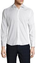 Valentino Cotton Solid Sportshirt