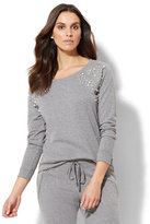 New York & Co. Lounge - Embellished Sweatshirt