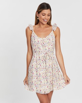 Atmos & Here Sally Floral Print Dress
