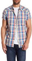 Lucky Brand Jesse Short Sleeve Classic Fit Western Shirt