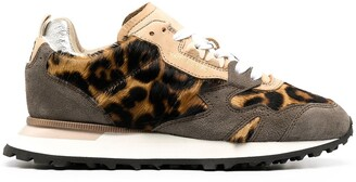 Moma Crafts running leopard-print sneakers