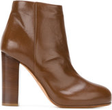 Jean-Michel Cazabat platform ankle boots - women - Calf Leather/Leather - 36