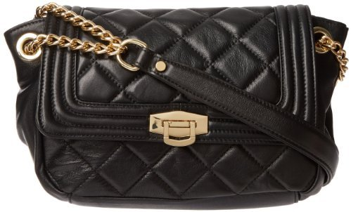 Co-Lab by Christopher Kon 1671 Zenith Quilted Flap Hobo