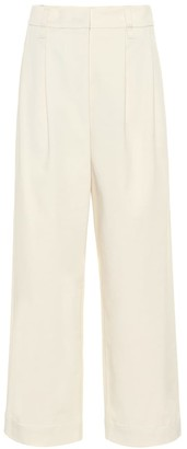 Brunello Cucinelli Cotton and wool twill pants