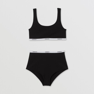 Burberry Logo Tape Bio-baed tretch Nylon Bikini