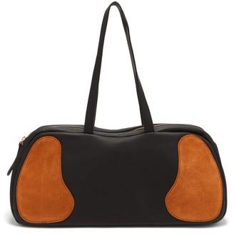 Gabriel For Sach - Decerio Suede-trim Large Leather Holdall - Black Multi