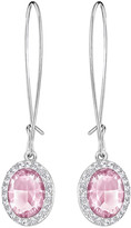 Swarovski Christie Long Pierced Earrings