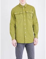 Moschino Embroidered Pure-cotton Overshirt