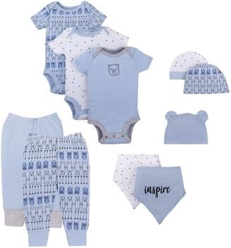 Lamaze Baby Boy Organic 10-piece set